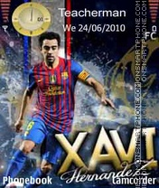 Xavi-Hernandez theme screenshot