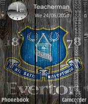 Everton Logo es el tema de pantalla