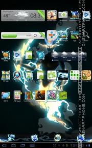 Thunder 02 es el tema de pantalla