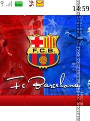 Fc Barcelona 26 theme screenshot