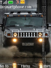 Hummer H2 09 theme screenshot