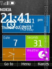 Lumia Style SWF es el tema de pantalla