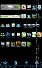 3d Frame tema screenshot