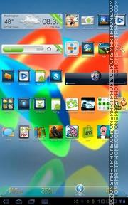 Xperia Home theme screenshot