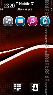 Black Red 02 theme screenshot