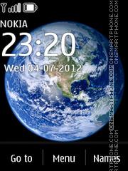 Space Dark 02 es el tema de pantalla