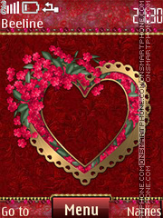 Love es el tema de pantalla