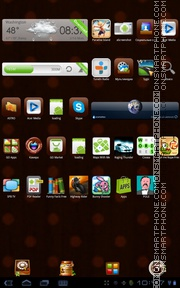 Restaurant tema screenshot
