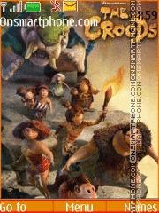 Скриншот темы The Croods
