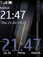 Futurism theme screenshot