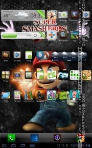 Super Mario Bros 01 theme screenshot