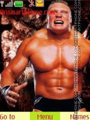 Brock Lesnar es el tema de pantalla