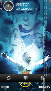Madrid tema screenshot