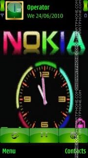 Nokia Color es el tema de pantalla