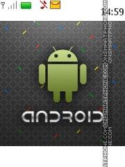 Capture d'écran Android 12 thème