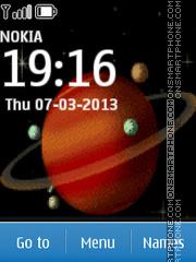 Saturn es el tema de pantalla