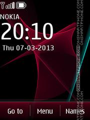 Galaxy 03 theme screenshot