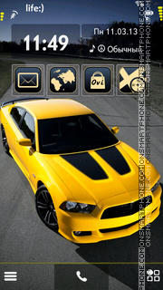 Dodge Charger S60v5 theme screenshot