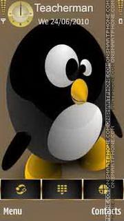Capture d'écran Penguin thème