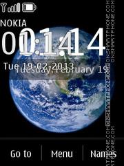 Earth iPhone es el tema de pantalla