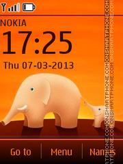 Elephants es el tema de pantalla