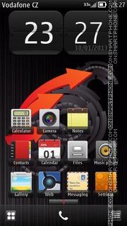 Capture d'écran Gear thème