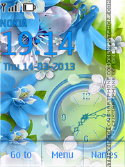 Spring for N theme screenshot