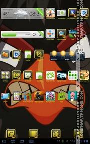 Angry Birds IV tema screenshot