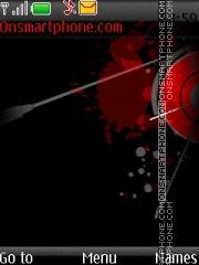 Dark Abstract theme screenshot