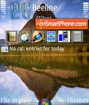 Reflection theme screenshot