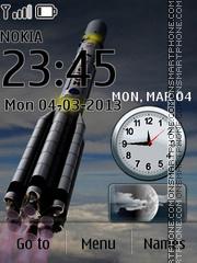 Rocket theme screenshot