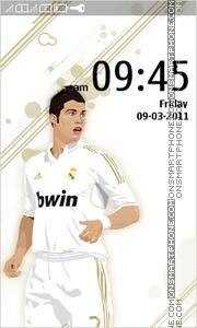 Cristiano Ronaldo 09 es el tema de pantalla