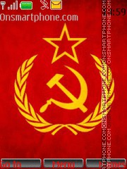 Hammer and Sickle theme screenshot