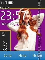 Meryem Uzerli in advertising Elidor theme screenshot
