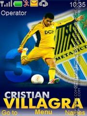 Cristian Villagra es el tema de pantalla