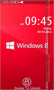 Windows 8 Red theme screenshot