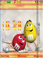 Funny M&M's theme screenshot