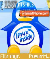 Linuxxx theme screenshot