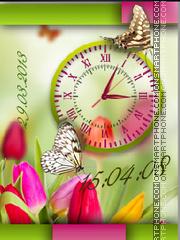 Summer Clock es el tema de pantalla