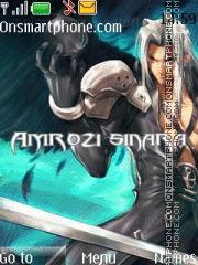 Amrozi Sinara theme screenshot