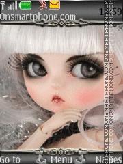 Cute Doll 09 es el tema de pantalla
