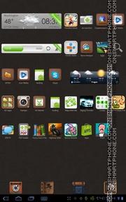 Capture d'écran X-Subtle thème