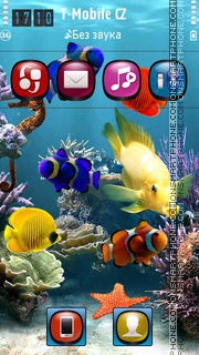 Aquatica HD theme screenshot
