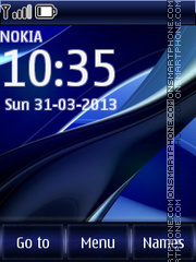 Blue Swf 01 theme screenshot