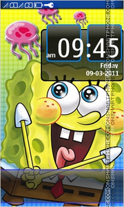 Sponge Bob 13 theme screenshot