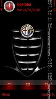 Alfa Romeo Red theme screenshot