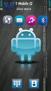 Android HD 01 es el tema de pantalla