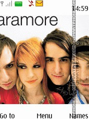 Paramore 06 theme screenshot