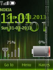 Green Battery theme screenshot
