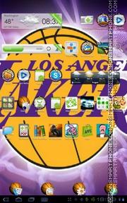 LA Lakers 01 es el tema de pantalla
